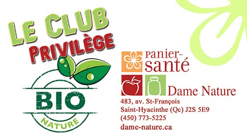 carte visite club privilege